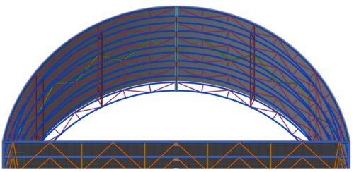 Tanečné pódium 11,8 x 7,5 m