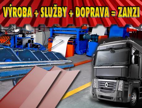 ZANZI - služby, výroba, doprava