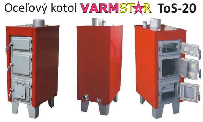Kvlitny kotol na dlhe roky - VARMSTAR ToS-20 20 kW
