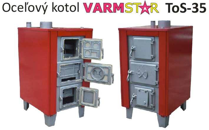 Kvlitny kotol na dlhe roky - VARMSTAR ToS-35 výkon 42 kW