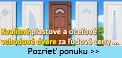 ZZSHOP.SK - Plastové vchodové dvere online obchod
