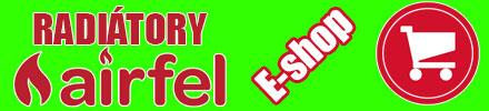 Radiatory Airfel - internetovy obchod - e-shop